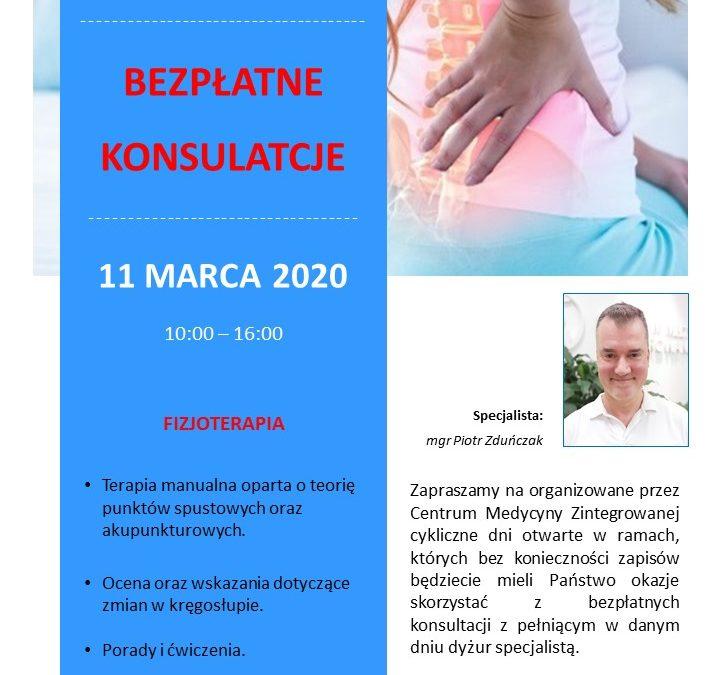 Dzień otwarty 11 marca 2020 FIZJOTERAPIA